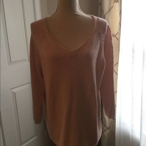 Talbots Pink sweater for spring